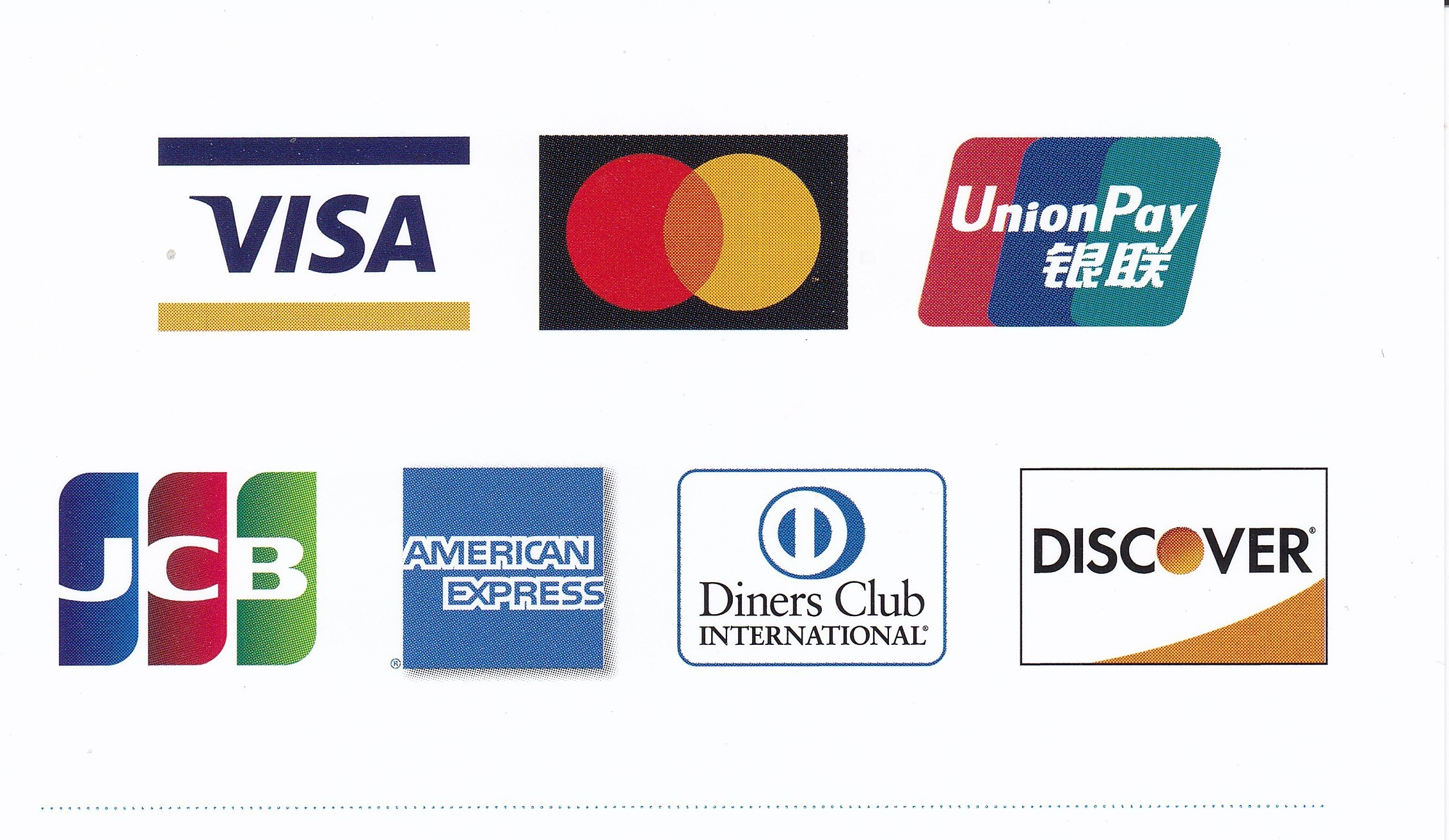大八木眼科ではお支払いにクレジットカードが使えます。
